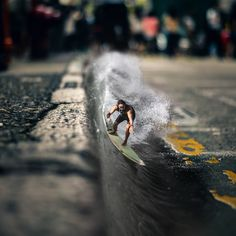 Little Ripper #madewithunsplash #surfer #urbansurfing