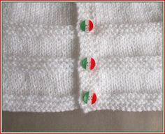 Ravelry: ROMA Baby Cardigan Jacket pattern by marianna mel Baby Cardigan Knitting Pattern Free, Baby Boy Knitting Patterns, Knitted Baby Cardigan, Sweater Hat, Easy Knitting, Baby Patterns, Knit Patterns, Layette Pattern, Knit Baby Dress