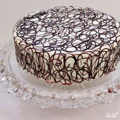Торт из заварных пирожных крокембуш