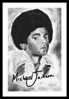 Young Michael Jackson Framed Print by Kenal Louis Black Art Painting, Black Artwork, Young Michael Jackson, Printable Butterfly, African American Artwork, Book Of Job, Composition Design, Poster Prints, Art Prints