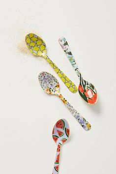 Colloquial Teaspoons, Set of 4 | Anthropologie