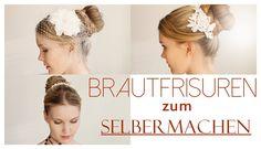 Brautfrisuren zum Selbermachen | Easy bride hairstyles | Kalilopii