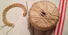 Points and thoughts of Manu: Tutorial beads and crochet