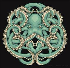 """Octopus Emblem"" by Jada Fitch."