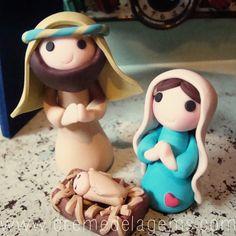 Fimo Christmas Nativity