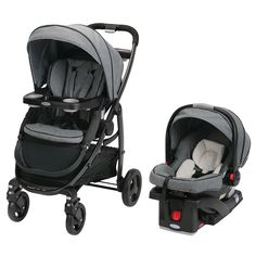 The Graco Modes Click Connect Travel System Stroller is the perfect stroller to grow with you and your baby from infant to toddler. It is 3 strollers in 1 and provides 10 versatile riding options. It also includes the Graco SnugRide Click Connect 35 Infant Car Seat, one of America's #1 selling infant car seats, holding your infant from 4-35 lbs and up to 32 inches.
