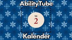 Tür 2 des 🎅 #AbilityTubeKalender 🎄 hält Behindert aber Glücklich für Euch bereit! Influencer, Diagram, Chart, Tags, Action, Movie Posters, Advent Calenders, Glee, Group Action