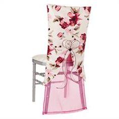 Abigail Floral Carmen - Azalea Bella  Chair Backs & Jackets