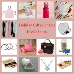Christmas Gifts For Her from HotRef.com