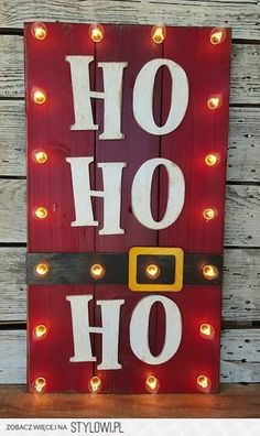 20 Fun Christmas Decorations - Thrifty T's Treasur… na Stylowi.pl