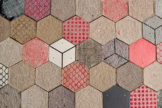 Paper tiles by Dear Human