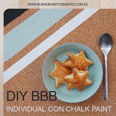 DIY salvamantel con chalkpaint Bueno Bonito y Barato