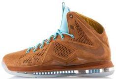 """Nike LeBron 10 EXT """"Hazelnut aka Scooby Doo's"""" X Sneakers (Release Date + Detailed Look)"""