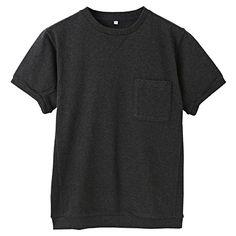 無印良品 / オーガニックコットン太番手天竺クルーネックTシャツ