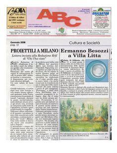 2008 Giornale ABC Milano