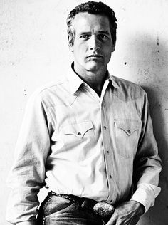 Paul Newman, por Terry O'Neill.  I've always loved Paul Newman - he reminds me of my Dad.