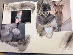 Charlotte's sketchbook