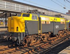 NS Class 1200 Electric Locomotive in the Netherlands