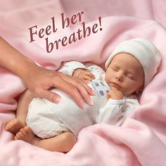 "Amazon.com: Andrea Arcello Ashley Breathing Lifelike Baby Doll: So Truly Real - 17"" by Ashton Drake: Toys & Games"