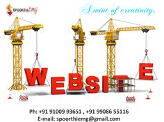 we design websites,logos and doing events and entertainments.. contact :91009 93651