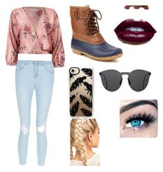 """""""Awesome outfit!!!!!!!!!😜"""" by carleik08 on Polyvore featuring Sans Souci, Jambu, Casetify, Illesteva and MINX"""