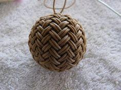Herringbone Pineapple knot