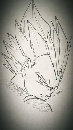 Drawing Cartoon Faces, Naruto Drawings, Anime Drawings Sketches, Anime Boy Sketch, Naruto Sketch, Goku Drawing, Ball Drawing, Anime Character Drawing, Dragon Ball Z