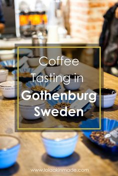 Where to go coffee tasting in Gothenburg, Sweden. Partake in the Swedish tradition of Fika! | Geotraveler's Niche Travel Blog