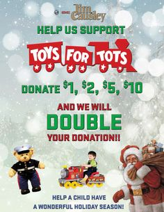 Buick Gmc Is A Proud Supporter And Official Toy Donation Location For The Marine Toys Tots Foundation From Now Until January 3 2017 Donate 1