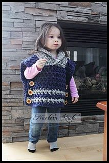 # 81 Shawl Collar Cobblestone Pullover by Amanda Chapman - choose Any 1 Pattern Crochet with code : MOMS - Expires May 15 Crochet Hooded Cowl, Crochet Pullover Pattern, Crochet Poncho Patterns, Crochet For Kids, Crochet Baby, Knit Crochet, Girls Sweaters, Baby Sweaters, Girls Poncho
