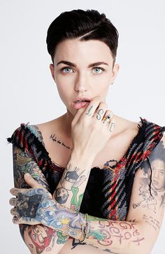 Ruby Rose. Photography: Bec Parsons