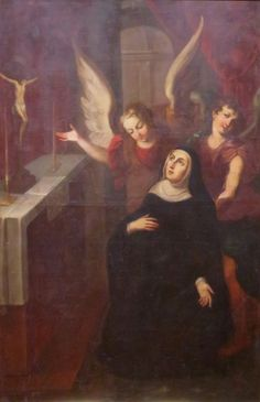 Prayers, Quips and Quotes: St. Rita of Cascia, Feast Day May 22 - THE MYSTERY OF FAITH What Is Religion, St Rita Of Cascia, May 22, Patron Saints, Sacred Art, History Books, Catholic, Mystery, Prayers