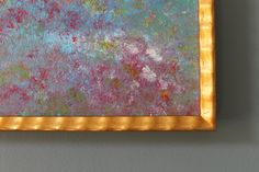 Moon River Original Abstract Impressionism by lotsahappy on Etsy SOLD