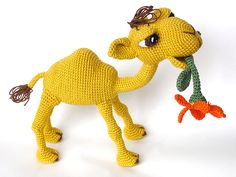 Quasimodo The Camel Amigurumi Pattern