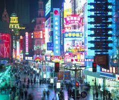 China de noche