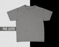 Transparent PNG Blank Gray T-Shirt Apparel Mockup, Fashion Design Styled Stock Photography, Mock Up Shirt, Top View, Photoshop Cutout Layer T Shirt Image, Shirt Mockup, Up Shirt, Photoshop, Gray, Trending Outfits, Mens Tops, Photography, Fashion Design