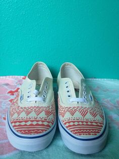 Hand painted Vans by ChristinaEvertArt on Etsy