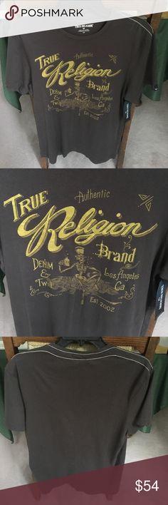 NWT True Religion whiskey tee NWT True Religion whiskey tee. Style: M41006N031. Mens small. Made in El Salvador. 100% cotton. Happy poshing True Religion Shirts Tees - Short Sleeve