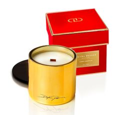 Dayna Decker holiday candle
