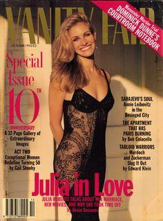 Vanity Fair October 1993, Julia Roberts