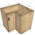 kitchen corner cabinet woodworking plans 2