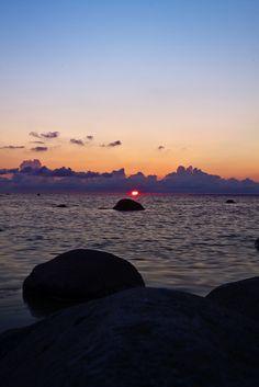 Sunset, Estonia