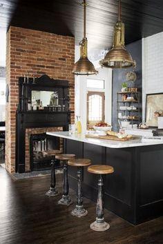 Inspiration décoration cuisine noire