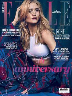 Rosie Huntington-Whiteley for Elle Indonesia April 2017