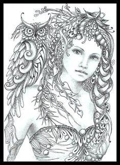 ausmalbilder kostenlos – Märchen, die Färbung der Blätter! -malvorlagen vol 3661 | Fashion & Bilder