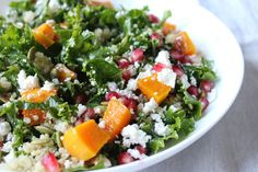 Autumn Harvest Salad with Roasted Butternut Squash