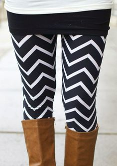 Like this layered look of leggings and a mini skirt and tall boots.