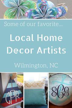 Handmade Home Decor in Wilmington