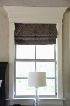 DIY Window and Door Trim - classic style...loving this easy to do trim