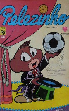 Revista em Quadrinhos do Pelezinho #nostalgia